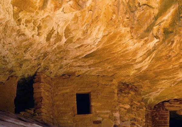 Native cliff dwelling