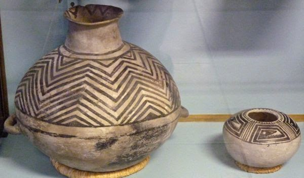 Ancient native pots
