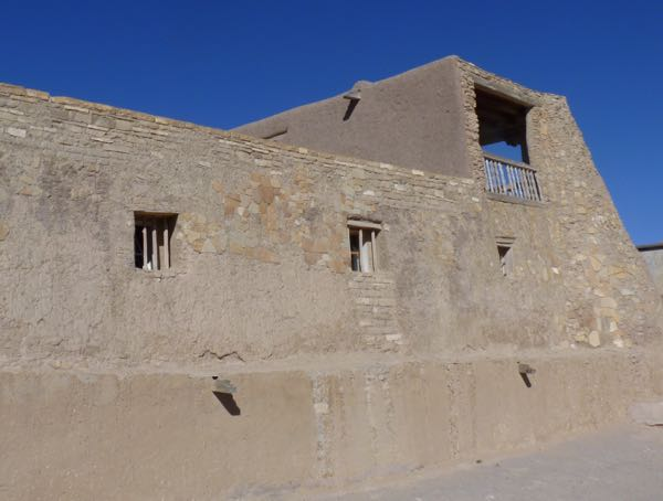 Adobe mission wing