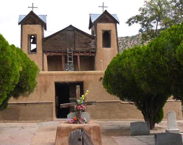 Chapel in Chimayó New Mexico