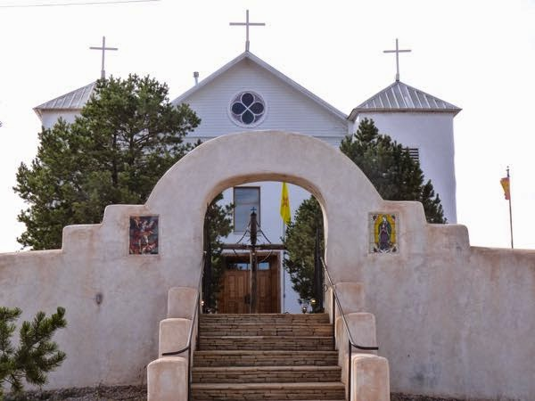 Chapel with wall in Ribera NM