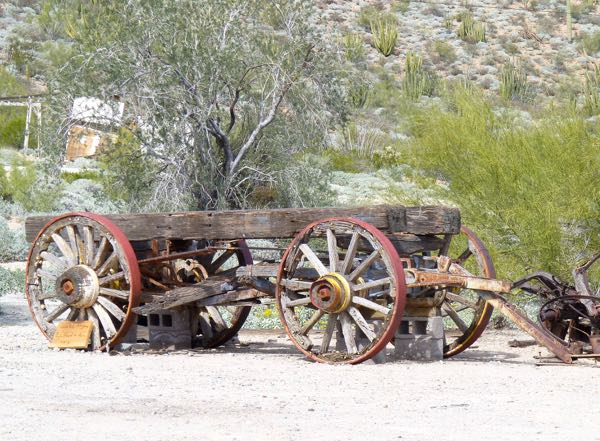 Water wagon with spoke wheels