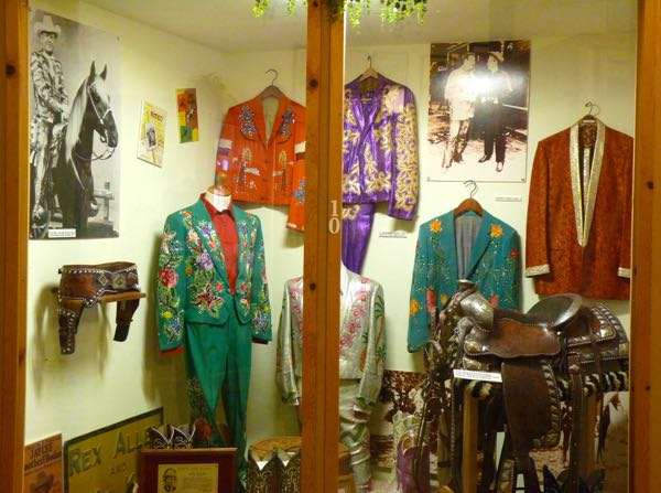Costumes, saddle, posters