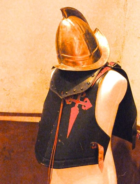 Helmet, breast shield
