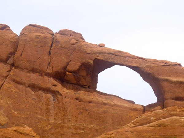 Rock formation and arch