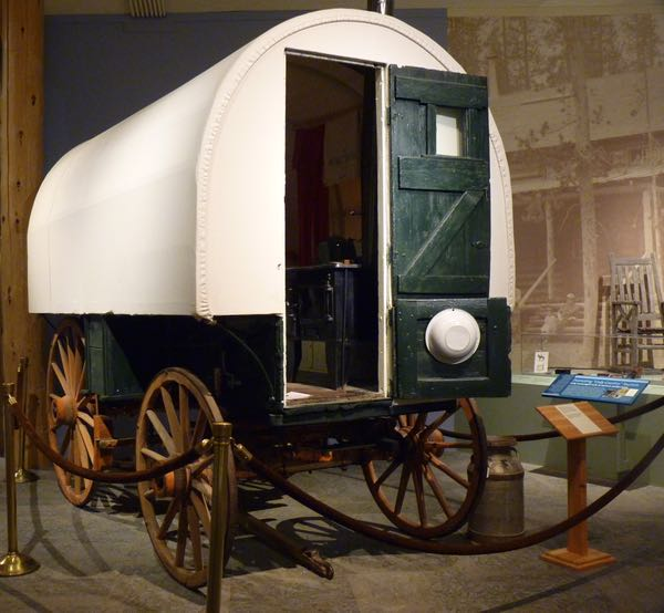 Wagon used by shepherds
