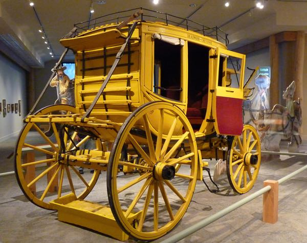 Stagecoach display