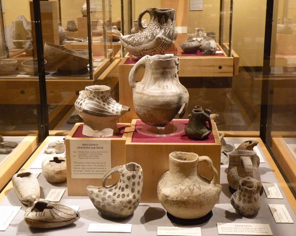 Pottery, display