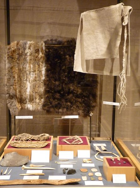 Anasazi museum display