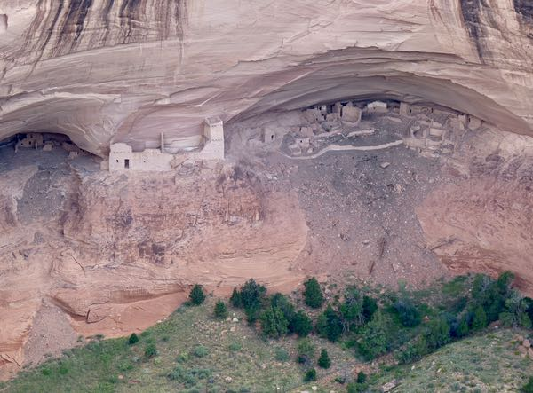 Cliff dwelling, caves