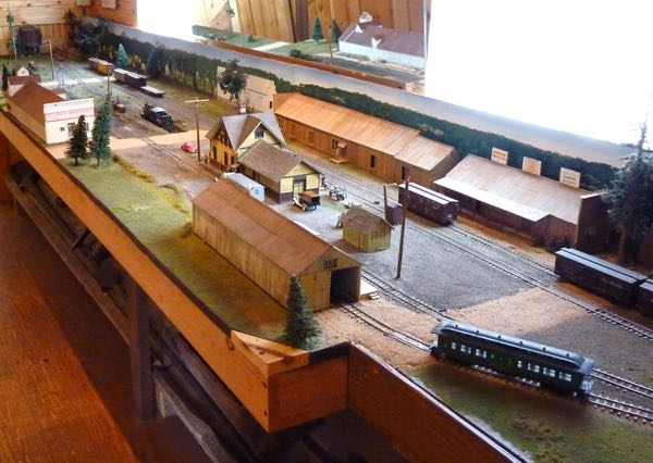 Train layout