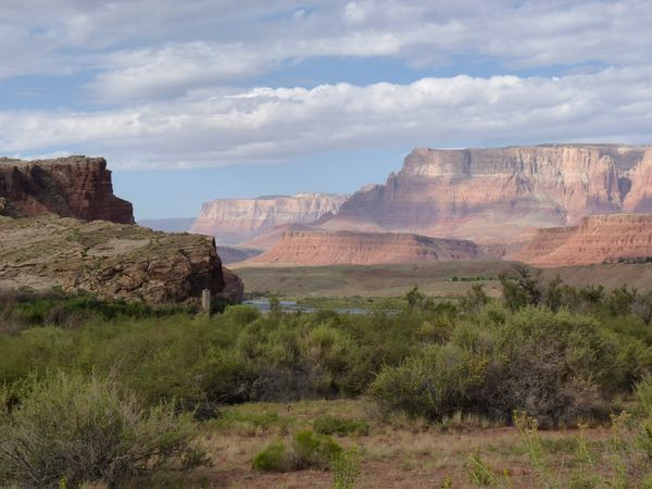Cliffs, mesas, sage brush