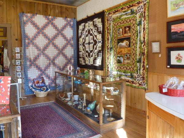 Quilts, gift shop