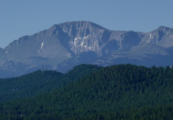 Pikes Peak from the North