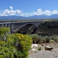 Rio Grande Gorge near Taos
